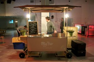 Stand mobile / Chariot ambulant - Visuel My Pie 2