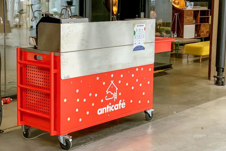 Chariot vente café