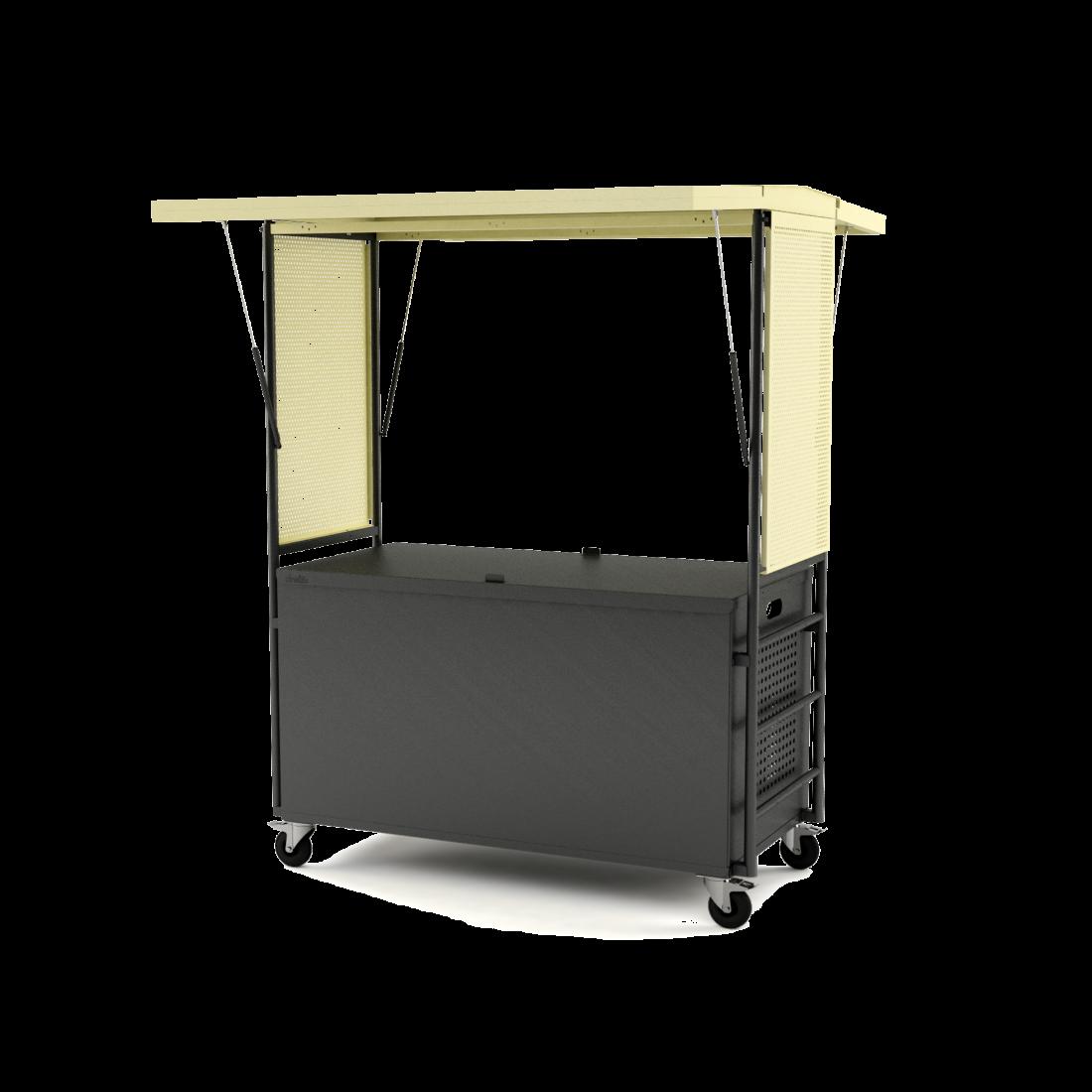 Kiosque mobile pour la restauration