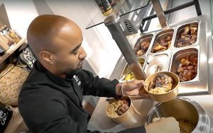 Chariot ambulant street food
