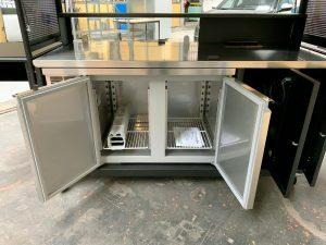 Kiosque chariot réfrigéré